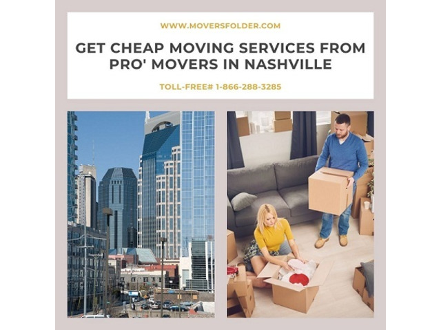 Get Cheap Moving Services from Pro' Movers in Nashville
