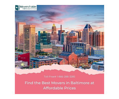 Find the Best Movers in Baltimore at Affordable Prices