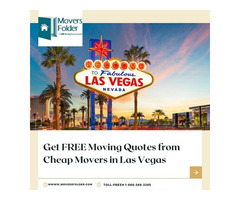 Get FREE Moving Quotes from Cheap Movers in Las Vegas