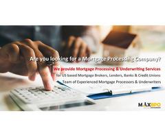 Mortgage Underwriting Companies - MaxBPO