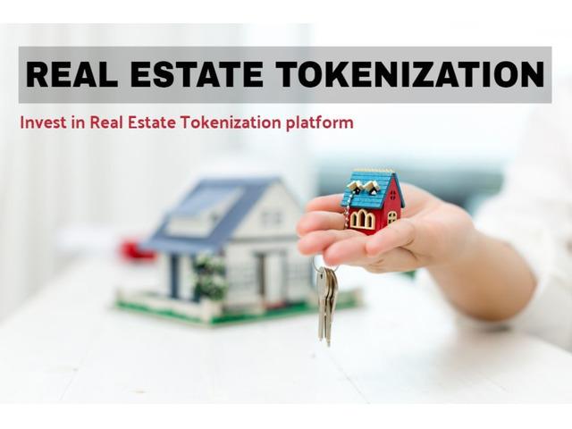 Invest in Real Estate Tokenization platform