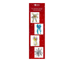 Make Quick and Easy Ribbon Bow Designs With Bowdabra Patriotic Ribbon Kits!