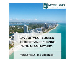 Save on your Local & Long Distance Moving with Miami Movers