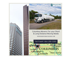 Columbus Movers: For your Short & Long Distance Moving Needs