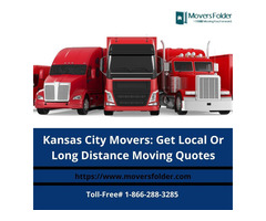 Kansas City Movers: Get Local Or Long Distance Moving Quotes