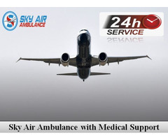 Obtain Air Ambulance from Raipur with Life-Saving Medical Equipment