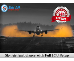Utilize Air Ambulance from Varanasi for Secure Patient Transportation